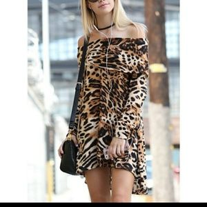 😘FLASH$ALE😘⬇gorgeous animal print dress